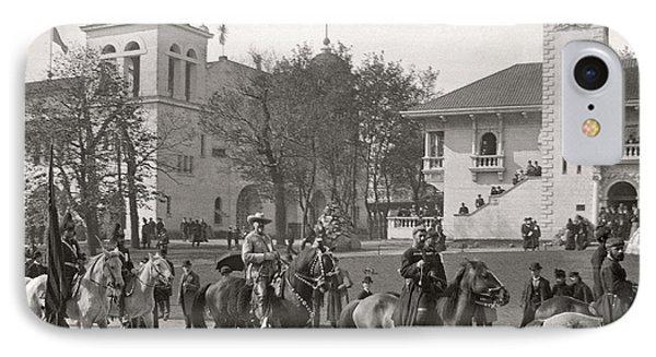 IPhone Case featuring the photograph Buffalo Bill Columbian Exposition 1893 by Martin Konopacki Restoration