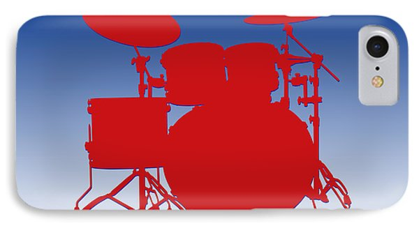 Buffalo Bills Drum Set IPhone Case by Joe Hamilton