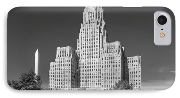 Buffalo City Hall 0519b IPhone Case
