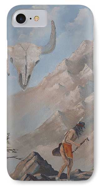 Buffalo Dancer IPhone Case by Richard Faulkner