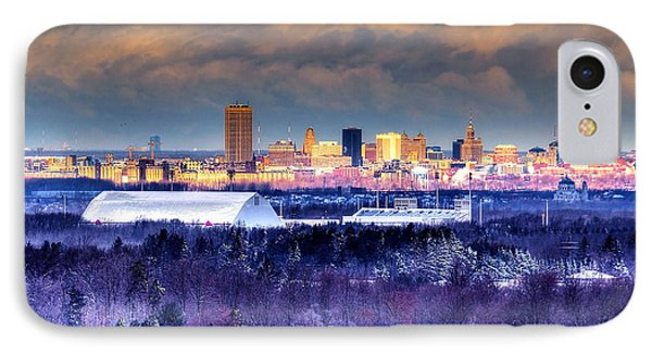 IPhone Case featuring the photograph Buffalo From Chestnut Ridge by Don Nieman