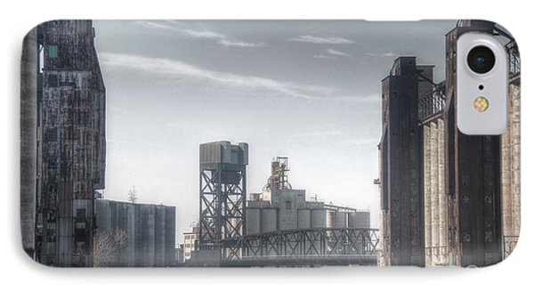 Buffalo Grain Mills IPhone Case by Jim Lepard
