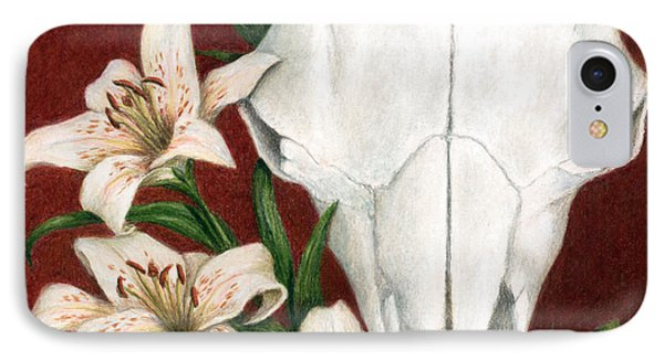 IPhone Case featuring the painting Buffalo Lilies by Pat Erickson