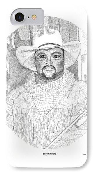 Buffalo Mike Phone Case by Arthur Eggers