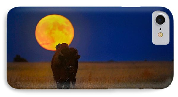 Buffalo Moon IPhone Case