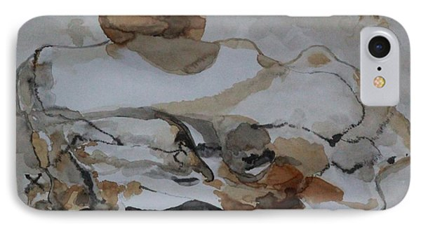 IPhone Case featuring the painting Buffalo Native Legend by Ayasha Loya