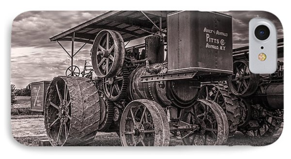 Buffalo Pitts Steam Traction Engine IPhone Case