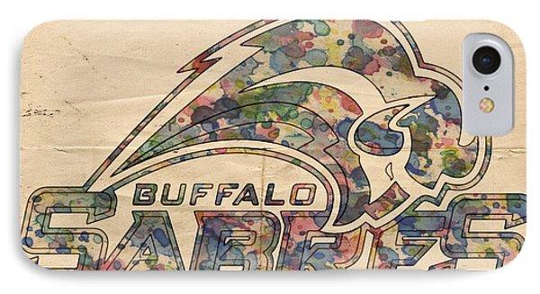 Buffalo Sabres Poster Art IPhone Case