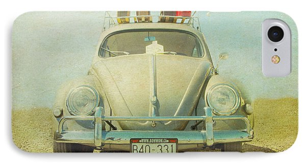 Bug On A Trip IPhone Case by Michele Wright
