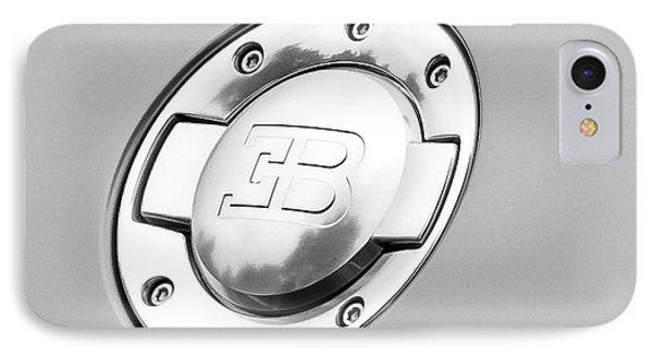 IPhone Case featuring the photograph Bugatti Fuel Cap by Matt Malloy