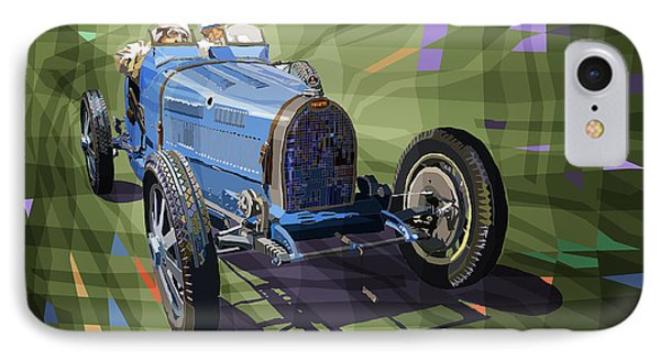Bugatti Type 35 IPhone Case by Yuriy Shevchuk