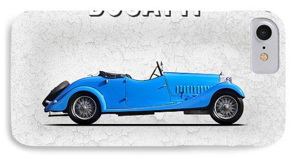 Bugatti Type 44 1927 IPhone Case by Mark Rogan