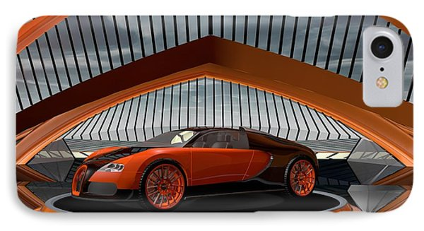 Bugatti Veyron IPhone Case by Louis Ferreira