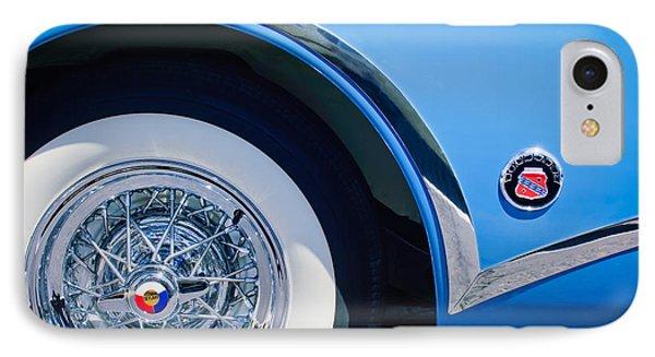 Buick Skylard Wheel Emblem Phone Case by Jill Reger