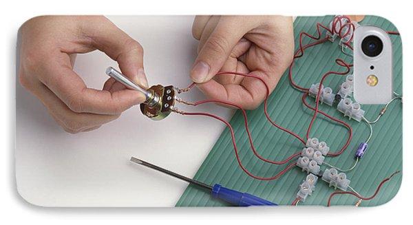 Building A Diy Radio Circuit IPhone Case