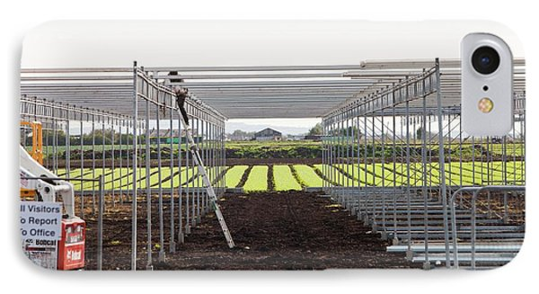 Building Greenhouses IPhone Case by Ashley Cooper