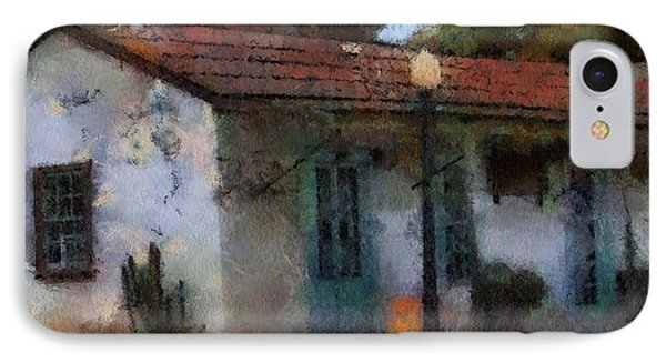 Building In San Juan Bautista IPhone Case by Barbara R MacPhail