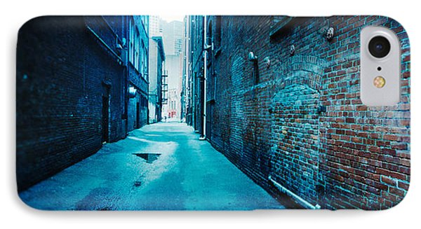 Buildings Along An Alley, Pioneer IPhone Case by Panoramic Images