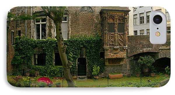 Buildings Along Channel, Bruges, West IPhone Case by Panoramic Images