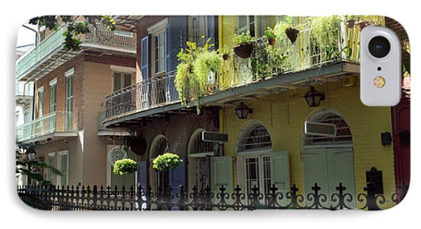 Buildings Along The Alley, Pirates IPhone Case by Panoramic Images