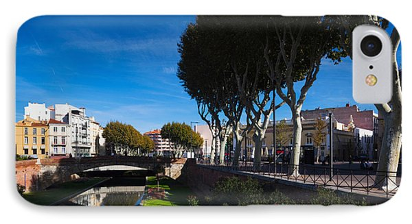 Buildings Along The Basse Riverfront IPhone Case by Panoramic Images