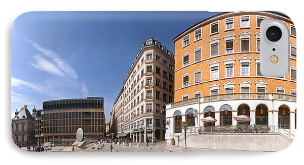 Buildings At Place Louis Pradel, Lyon IPhone Case by Panoramic Images