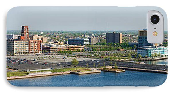 Buildings At The Waterfront, Adventure IPhone Case by Panoramic Images