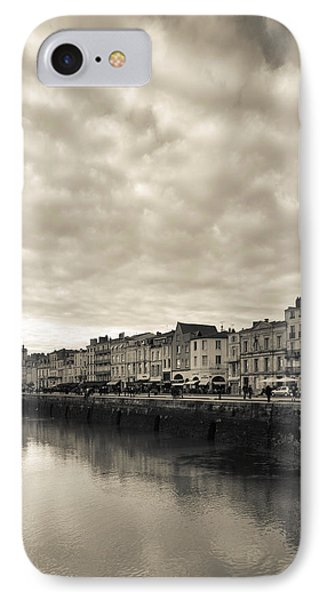 Buildings At The Waterfront, Old Port IPhone Case by Panoramic Images