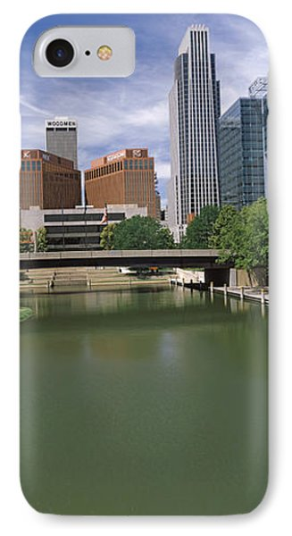 Buildings At The Waterfront, Omaha IPhone Case
