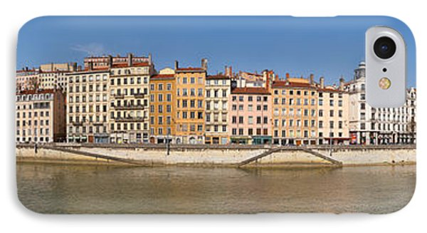 Buildings At The Waterfront, Saone IPhone Case by Panoramic Images