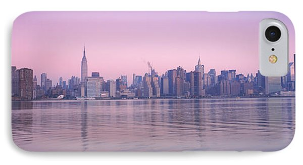 Buildings At The Waterfront Viewed IPhone Case by Panoramic Images