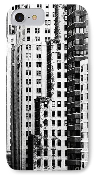 Buildings Bw Phone Case by Bruce Bain