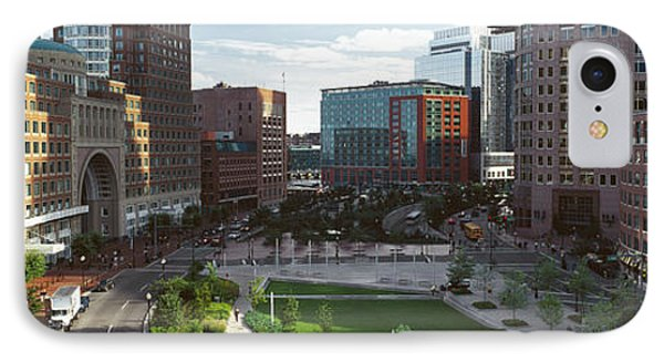 Buildings In A City, Atlantic Avenue IPhone Case by Panoramic Images