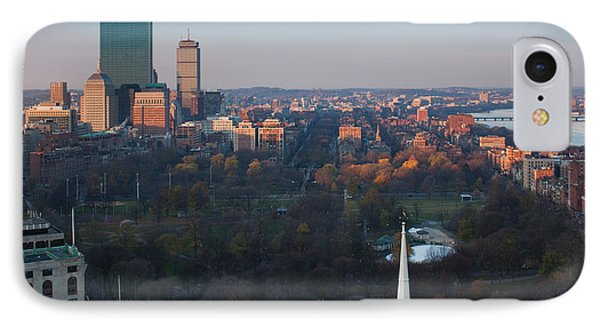 Buildings In A City, Boston Common IPhone Case by Panoramic Images