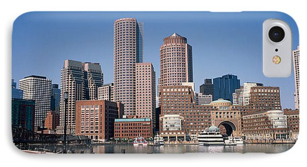 Buildings In A City, Boston, Suffolk IPhone Case by Panoramic Images