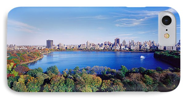 Buildings In A City, Central Park IPhone Case by Panoramic Images