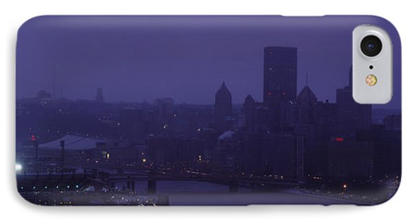 Buildings In A City, Heinz Field, Three IPhone Case