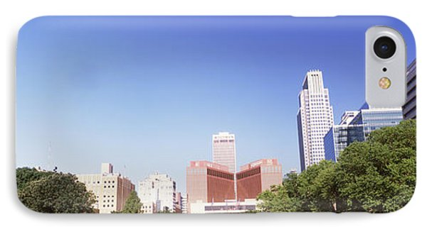 Buildings In A City, Qwest Building IPhone Case by Panoramic Images