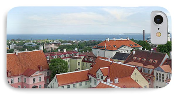 Buildings In A City, Tallinn, Estonia IPhone Case by Panoramic Images