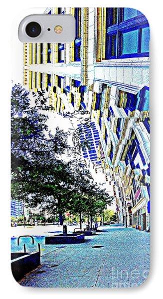 Buildings In Flux Phone Case by Scott Dixon
