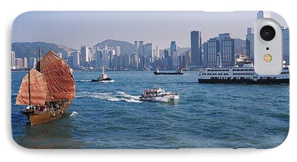 Buildings On The Waterfront, Kowloon IPhone Case by Panoramic Images