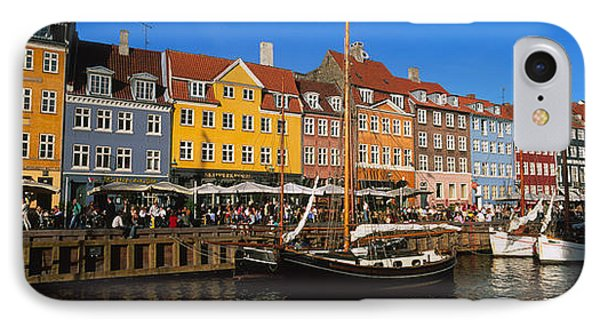 Buildings On The Waterfront, Nyhavn IPhone Case by Panoramic Images