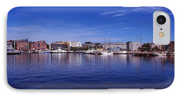 Buildings On The Waterfront, Oslo IPhone Case
