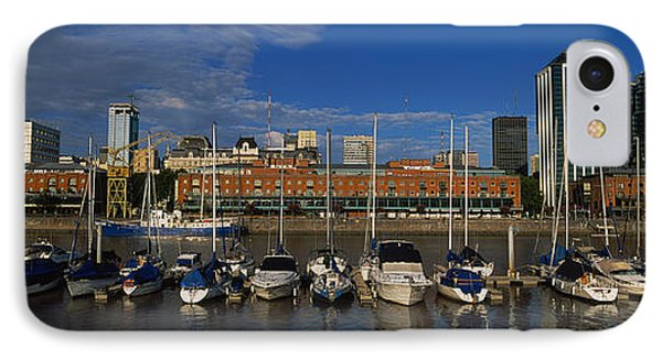 Buildings On The Waterfront, Puerto IPhone Case by Panoramic Images