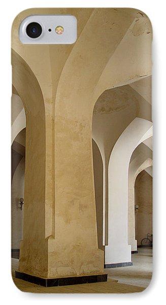 Bukhara Great Mosque Pillars IPhone Case
