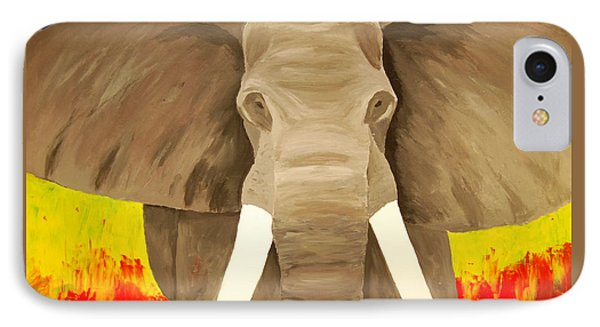 Bull Elephant Prime Colors IPhone Case