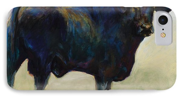Bull Phone Case by Frances Marino