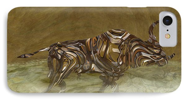 Bull Phone Case by Jack Zulli