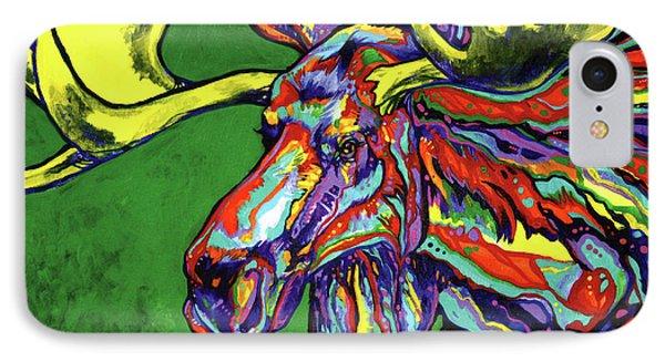Bull Moose Phone Case by Derrick Higgins
