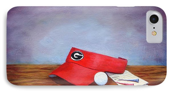 Bulldog Golf IPhone Case